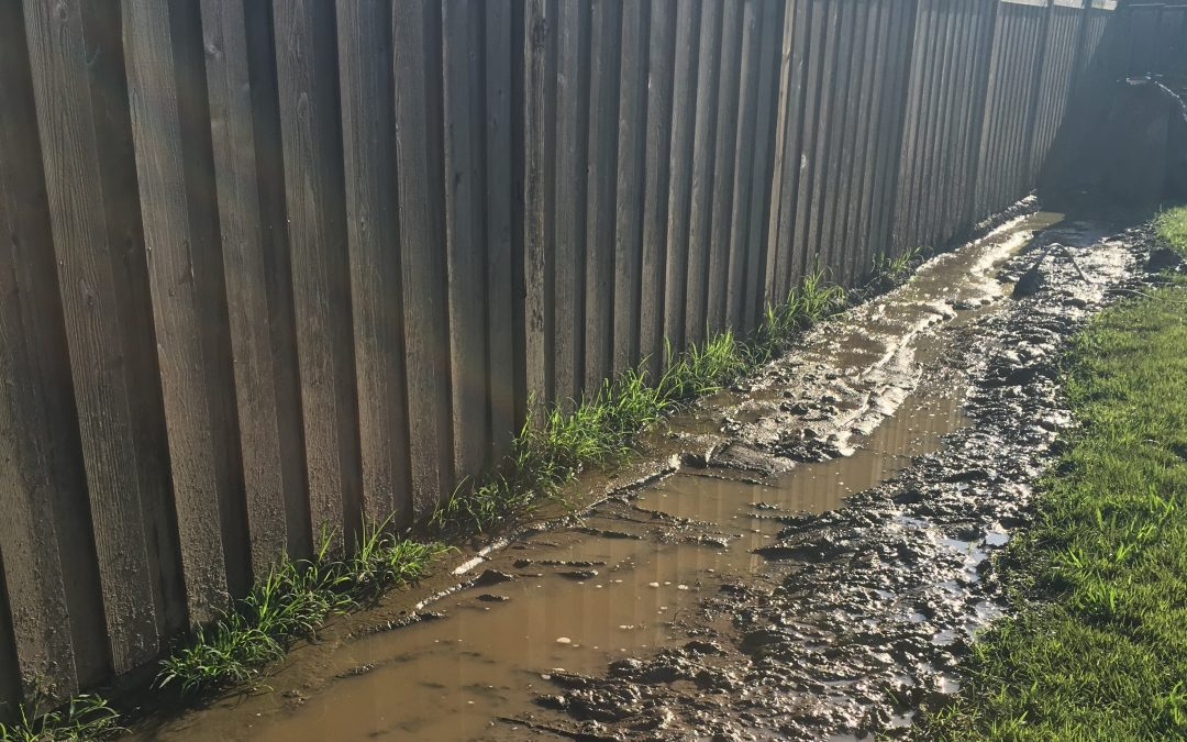 3 Common Problems That Cause Poor Drainage